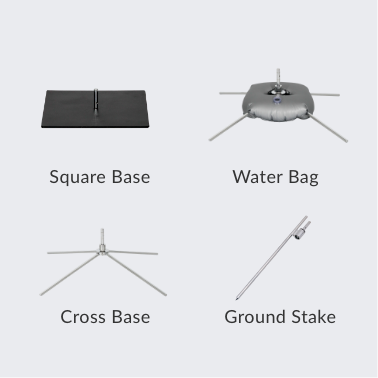 Image of dropdown flag accessories