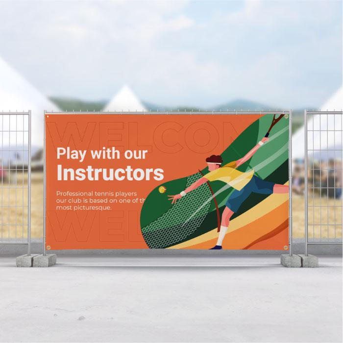 Image of item Vinyl Banner