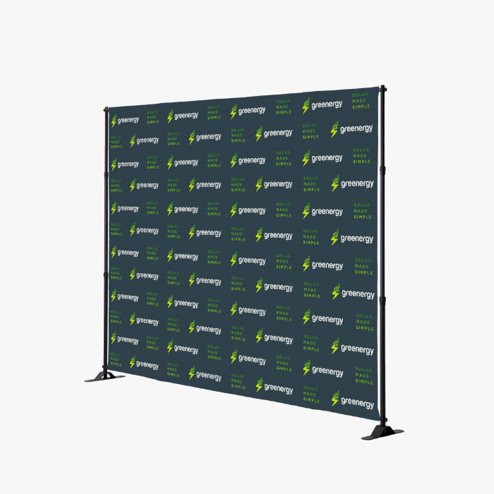 Image of item Step & Repeat Backdrop w/ Stand