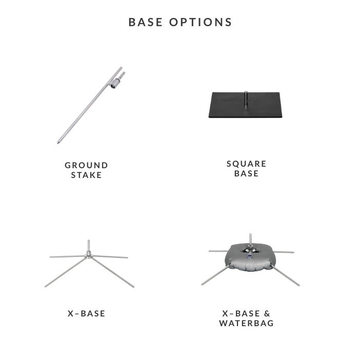 Image of item Teardrop Flag - (Large)