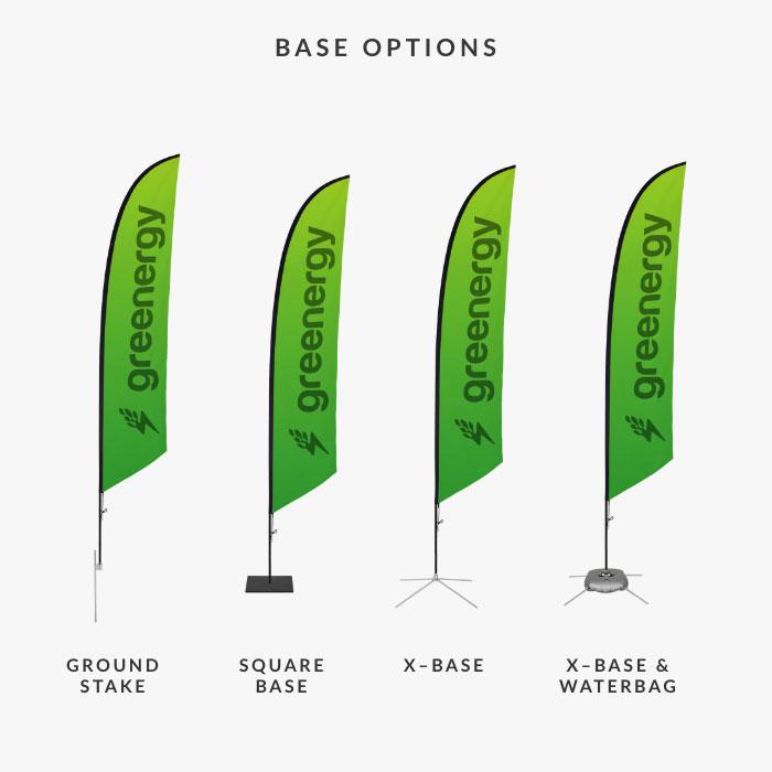 Image of item Feather Angled Flag - (Medium)