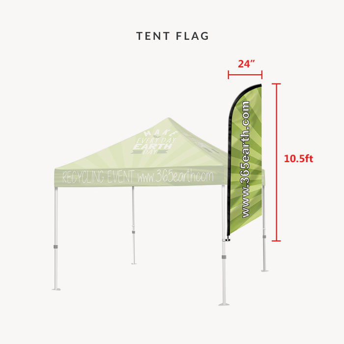 Image of item Event Tent Flag (with Pole Set)
