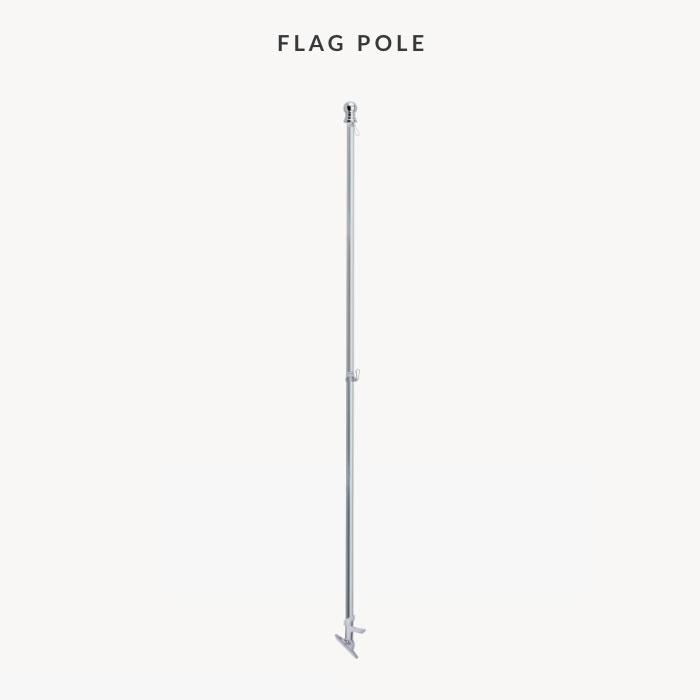 Image of item Flag Pole and Bracket