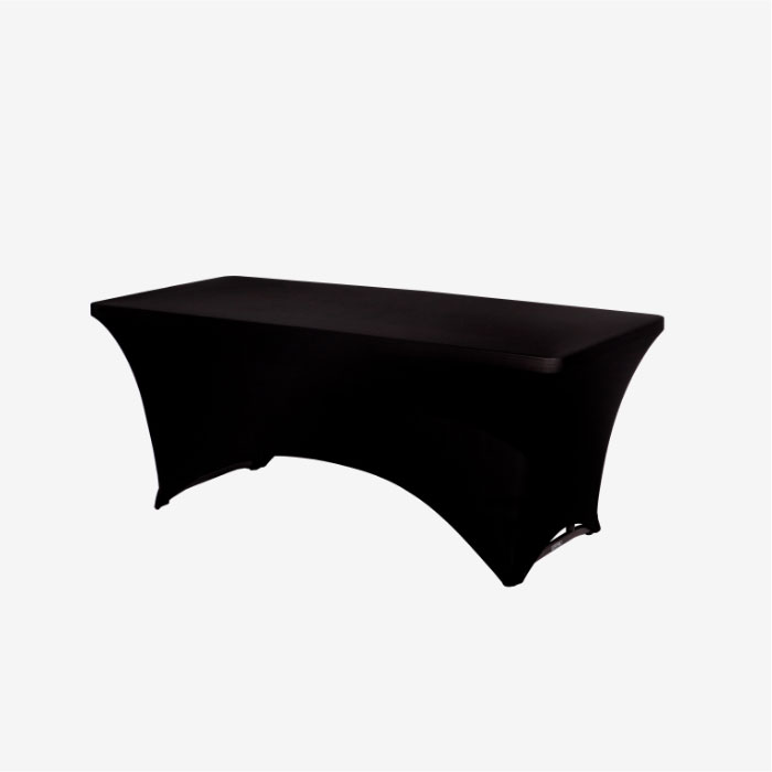 Image of item Solid Black Stretch Throw