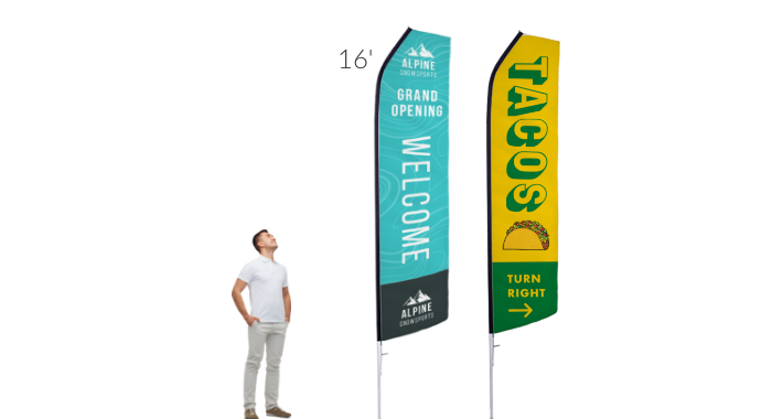 Image of item Econo Feather Flag